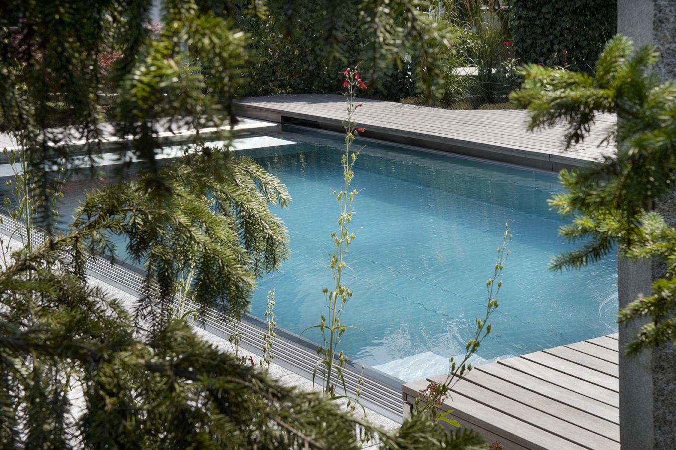 Swimming-Pool ohne Chlor, natürlich und bio