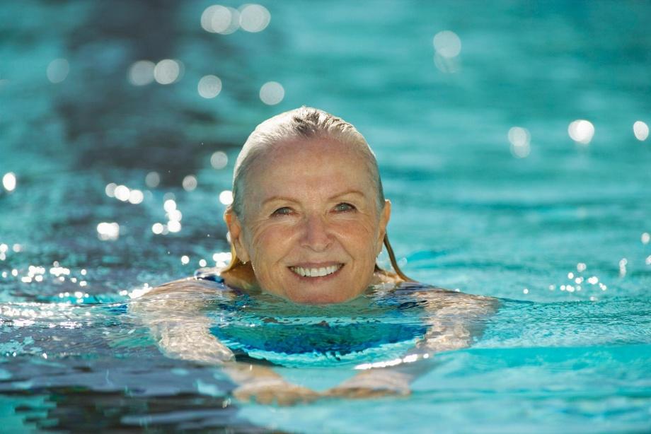 Schwimmtraining