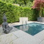 Wasserspiel-Brunnen-Terrasse